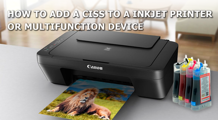 How to Add a CISS to a Printer