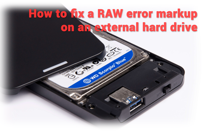 How to fix a RAW error markup