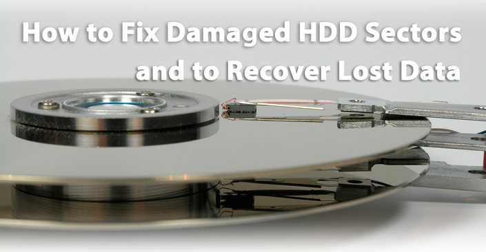 How to fix damaged HDD