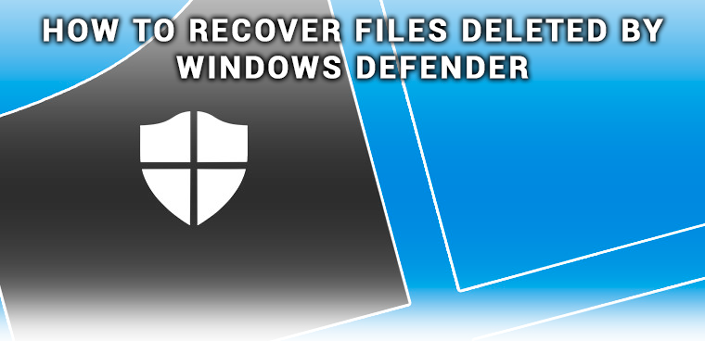 Recover files deleted by Windows Defender