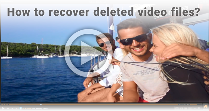 Recovering erased video