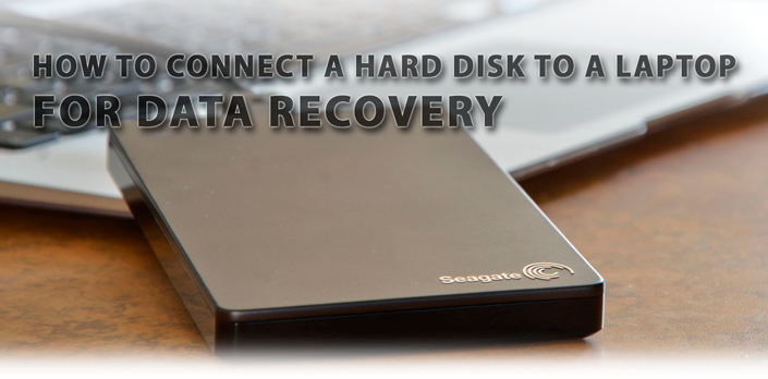 How to connect a hard drive to a laptop