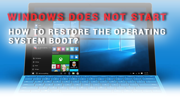 How to restore Windows boot
