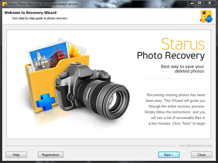 photo recovery in desktop